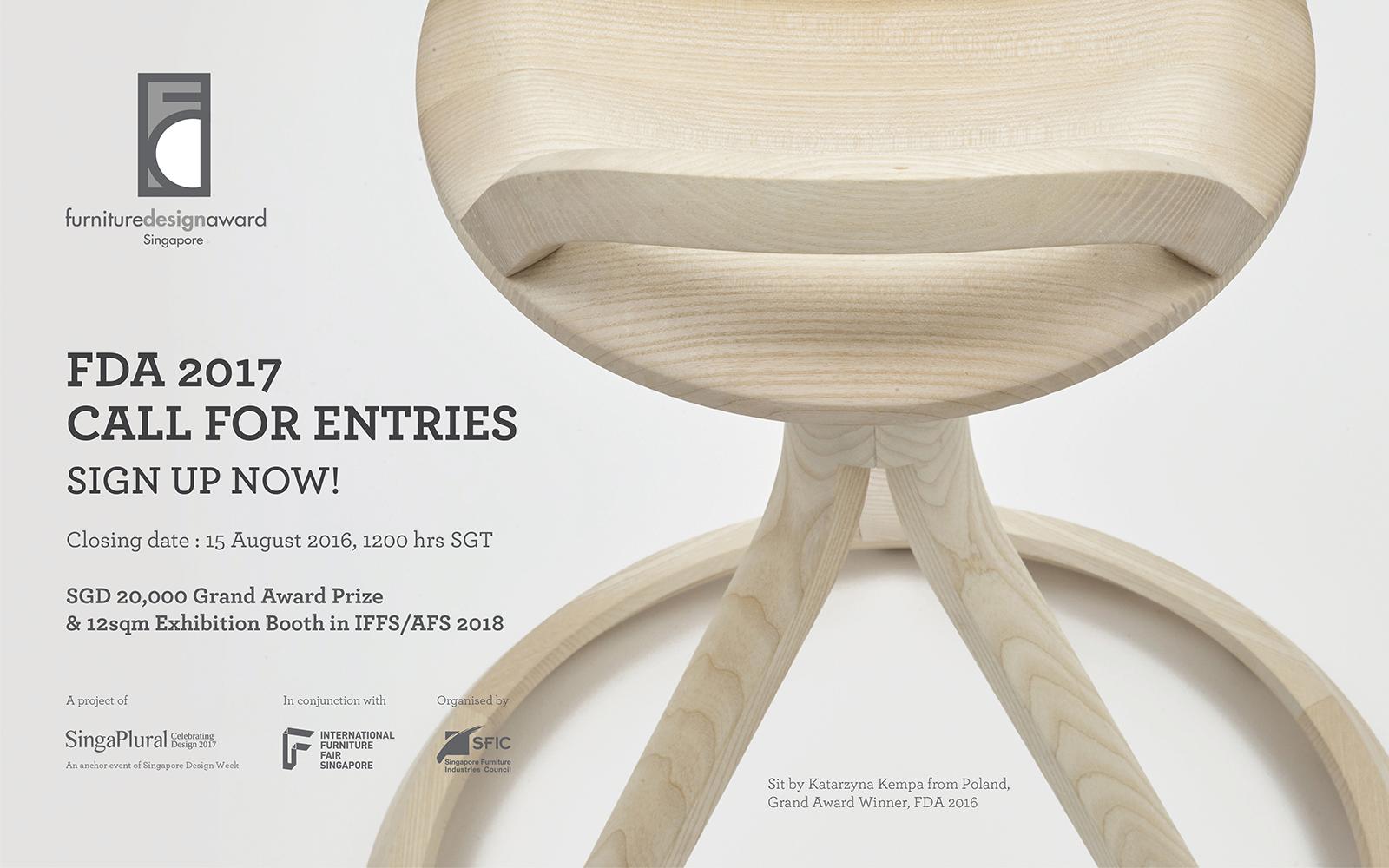 Furniture design award 2017 artconnect for Chair design awards