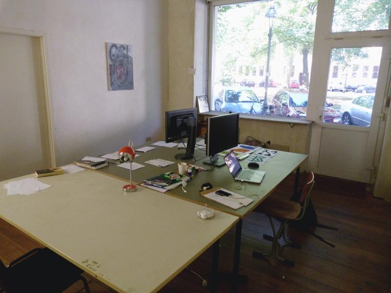 Studio / Schreibtischplatz / Coworking in Schillerkiez | ARTCONNECT