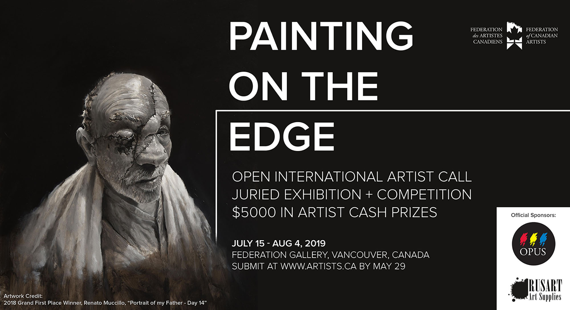 International Open Call to all Artists: Painting on the Edge