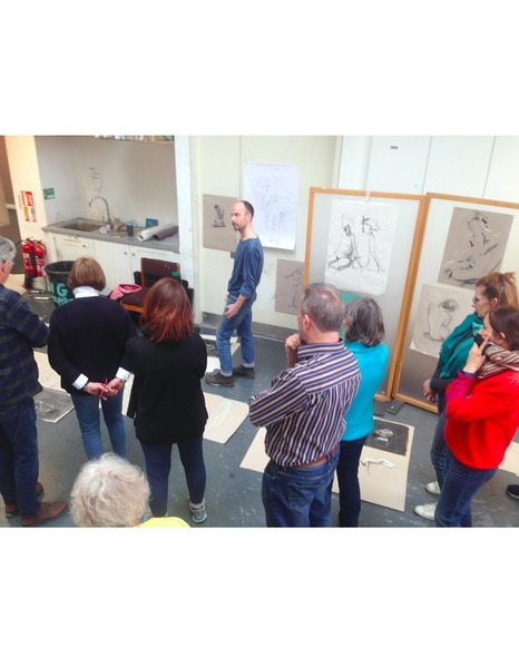 Life Drawing WorkShop- 6 hour pose & 3x explorative life