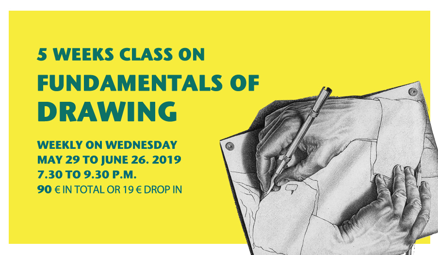 5 weeks class on fundamentals of drawing | ARTCONNECT