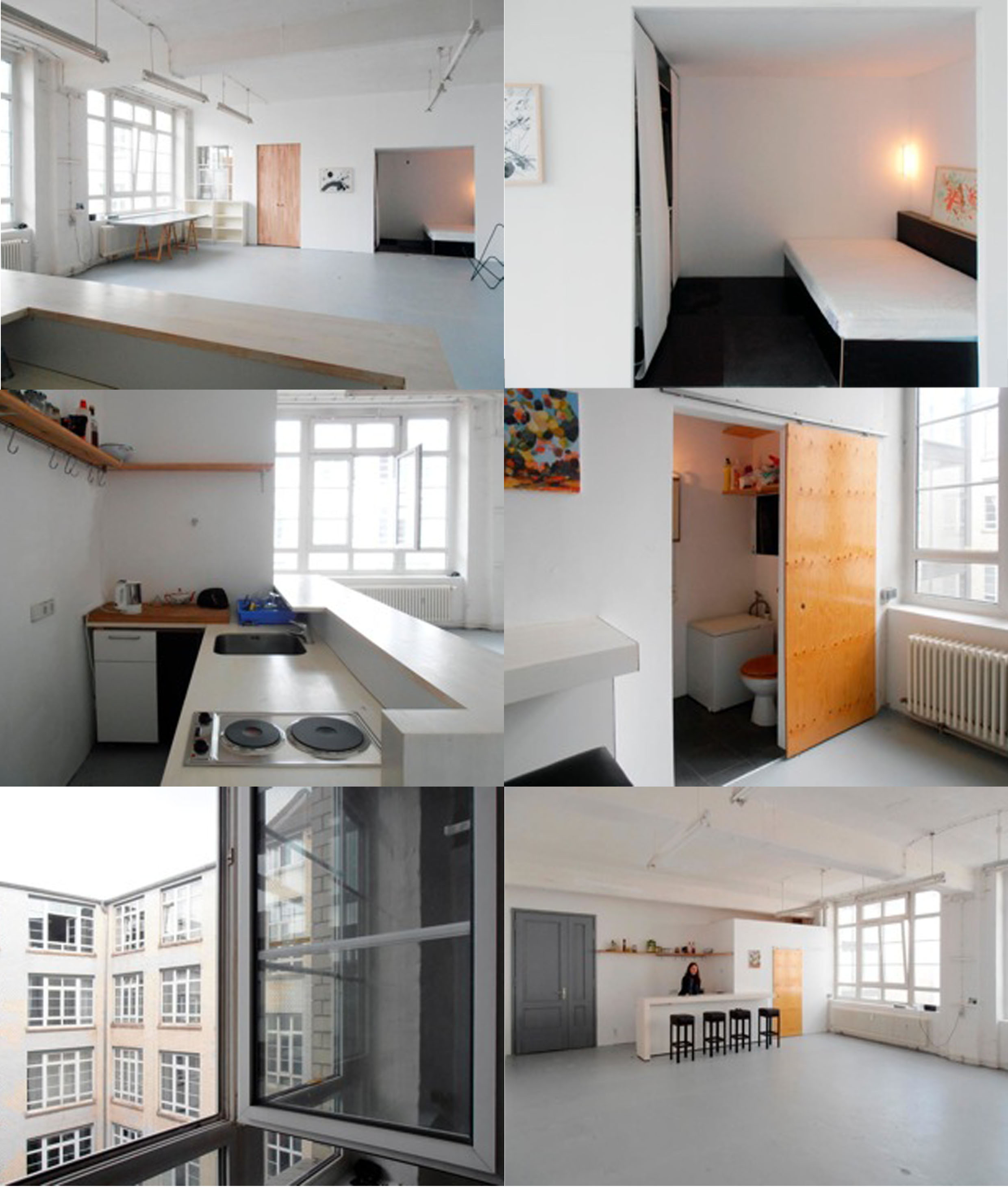 loft rent studio living place in berlin october 2013. Black Bedroom Furniture Sets. Home Design Ideas