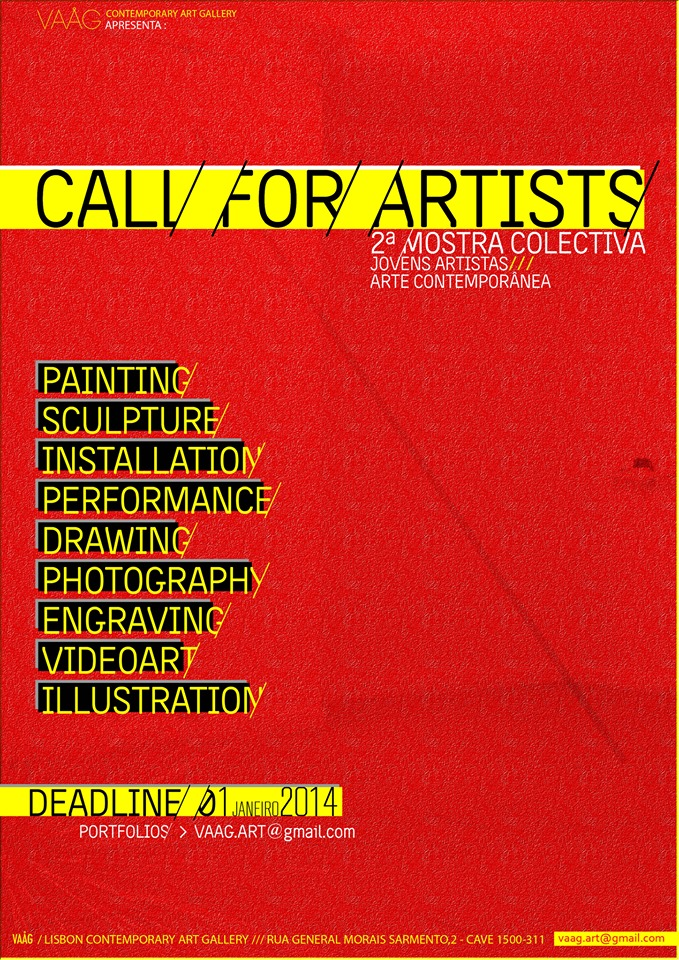 CALL FOR ARTISTS - Upcoming Exhibition at VAAG Art Gallery