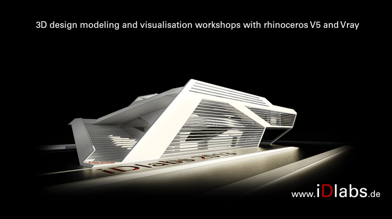 Intensive rhino v5 professional 3d modelling course artconnect Smart home architecture based on event driven dpws