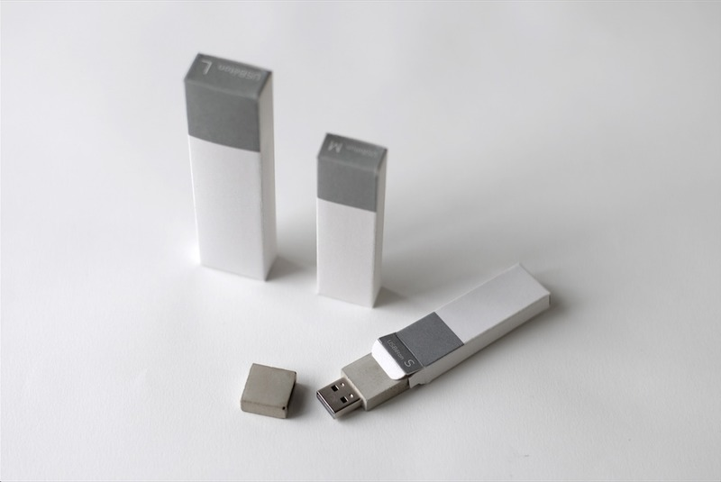 usb ton the usb stick made out of concrete artconnect. Black Bedroom Furniture Sets. Home Design Ideas